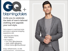 GQ BLOOMINGDALES event