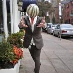 oliver wicks brown donegal tweed suit