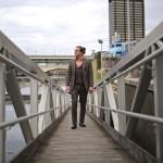 oliver wicks brown tweed three piece suit