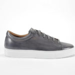 m gemi grey hand painted leather sneaker review